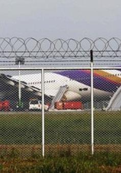 Máy bay Thai Airways trục trặc, 14 người bị thương