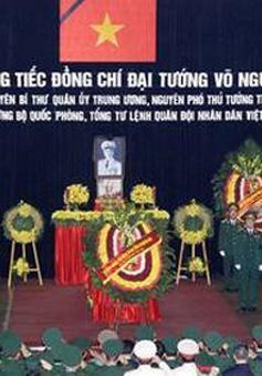 Báo chí quốc tế đưa tin Lễ tang Đại tướng