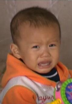 Bé 2 tuổi mắc bệnh tim đang cần sự trợ giúp