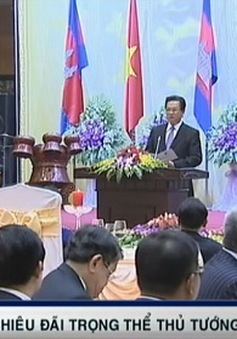 Chiêu đãi trọng thể Thủ tướng Campuchia