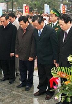 Kỷ niệm 100 năm ngày sinh Đại tướng Nguyễn Chí Thanh
