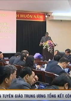 Ban Tuyên giáo Trung ương tổng kết công tác năm 2013