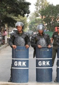 Campuchia kiên quyết lập lại trật tự sau biểu tình