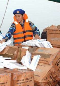 Thu giữ hơn 22.000 bao thuốc lá lậu