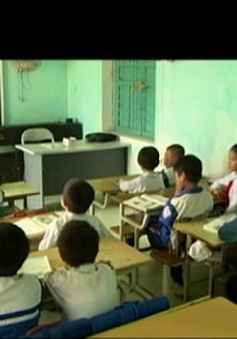 Lớp học tình thương cho trẻ khuyết tật tại Thái Bình
