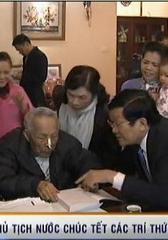 Chủ tịch nước thăm, chúc Tết các trí thức, văn nghệ sĩ