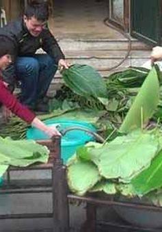 Nhóm bạn trẻ Hà Nội gói bánh chưng tặng trẻ em nghèo SaPa