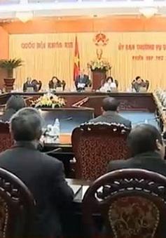 Ủy ban Thường vụ Quốc hội họp phiên thứ 26