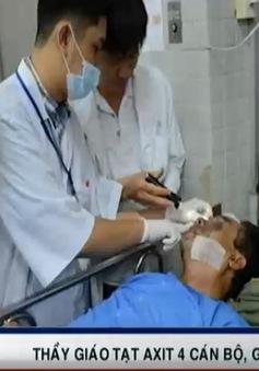 Nạn nhân vụ tạt axit tại Đồng Tháp có nguy cơ mất thị lực vĩnh viễn