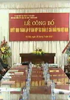 Thành lập Ủy ban hợp tác quản lý cửa khẩu phía Việt Nam