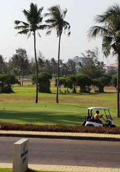 Sân golf Phan Thiết khai thác cầm chừng
