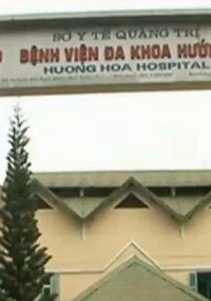 Ba trẻ sơ sinh tử vong ở BV Hương Hóa: Do tiêm nhầm thuốc gây mê