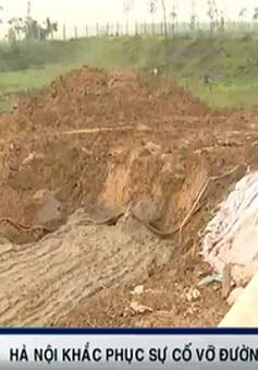 Kiểm tra chất lượng đường ống dẫn nước sạch Sông Đà