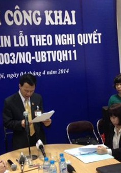 Video TAND TP Hà Nội công khai xin lỗi người bị kết án oan