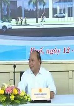 Phó Thủ tướng Nguyễn Xuân Phúc kiểm tra công tác chuẩn bị Festival Huế 2014