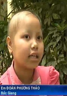 Cô bé ung thư xương với ước mơ thành bác sĩ