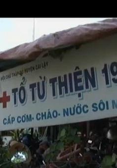 Bếp ăn từ thiện làm ấm lòng bệnh nhân nghèo tại Tiền Giang
