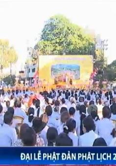 Đại lễ Phật đản Phật lịch 2558 được tổ chức long trọng tại nhiều địa phương