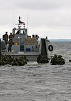 NATO tập trận quy mô lớn ở Estonia