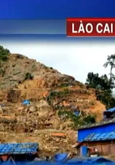 """Lào Cai: Truy quét nạn """"vàng tặc"""" tại khu vực Mà Sa Phìn"""