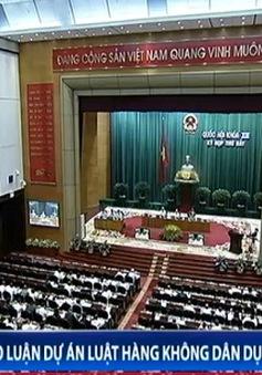Quốc hội thảo luận dự án Luật hàng không dân dụng Việt Nam