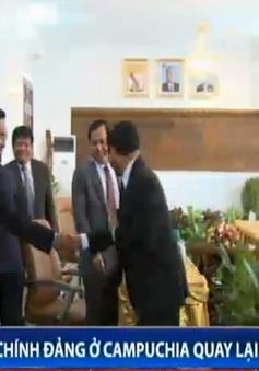 Hai chính đảng ở Campuchia quay lại đàm phán