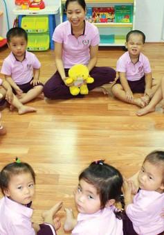 TP.HCM: Tăng thu nhập cho giáo viên mầm non