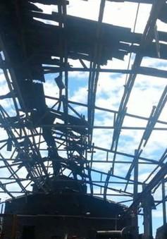 Nổ lớn tại xưởng luyện phôi thép, 5 người bị thương