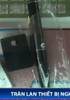 Tràn lan thiết bị nghe lén bày bán công khai trên thị trường