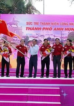 TP.HCM ra quân chiến dịch Kỳ nghỉ Hồng 2014