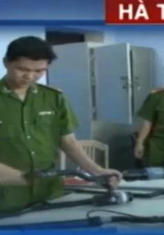 Lo ngại súng hơi cồn tự chế tại Hà Tĩnh gây sát thương cao
