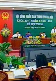 Khai mạc kỳ họp thứ 10 HĐND TP Hà Nội