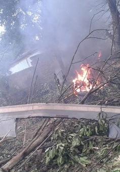Vụ rơi máy bay Mi-171: Thăng quân hàm cho các chiến sỹ hy sinh