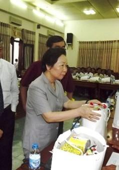 Phó Chủ tịch nước Nguyễn Thị Doan gặp mặt gia đình chính sách tiêu biểu Quảng Trị