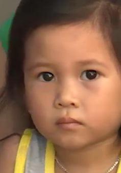 Cháu Linh Chi (Quảng Ngãi) mong nhận được sự giúp đỡ để phẫu thuật tim