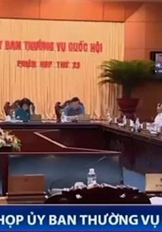 Họp Ủy ban Thường vụ Quốc hội