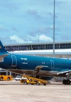 Nhiều chuyến bay của Vietnam Airlines bị ảnh hưởng vì bão Rammasun