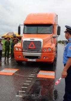 Quảng Trị: Hạn chế xe quá tải trên quốc lộ 9