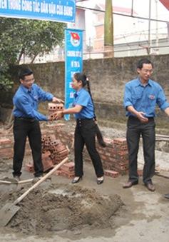 Tuổi trẻ Ninh Bình hỗ trợ xây nhà cho 8 gia đình chiến sĩ đang công tác ngoài biển, đảo