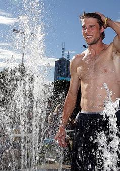 """Khoảnh khắc """"hạ nhiệt"""" chỉ có ở Australian Open"""