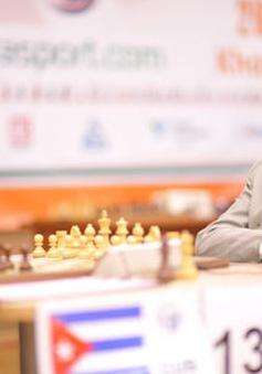 Quang Liêm dẫn đầu tại giải cờ vua Gibraltar
