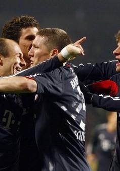 Bayern tiến nhanh tới ngôi vô địch Bundesliga