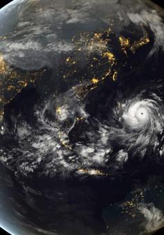 Hình ảnh đáng sợ của siêu bão Haiyan từ ngoài vũ trụ