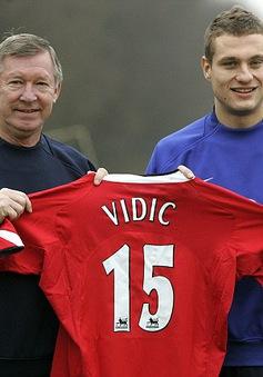 Những khoảnh khắc đáng nhớ của Vidic với Man Utd