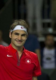 Federer đưa ĐT Thụy Sĩ vào bán kết Davis Cup 2014