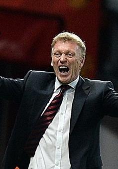 Những nụ cười hiếm hoi của HLV Moyes cùng Man Utd