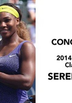 Serena lần thứ 3 trong 4 năm đăng quang ở Stanford Classic