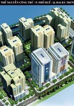 Khởi công cải tạo khu tập thể Nguyễn Công Trứ - Hà Nội