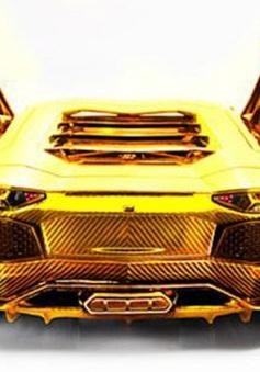 7,8 triệu USD cho chiếc Lamborghini bằng vàng khối