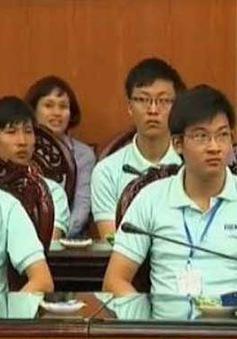 Chủ tịch QH gặp mặt học sinh đoạt giải Olympic quốc tế